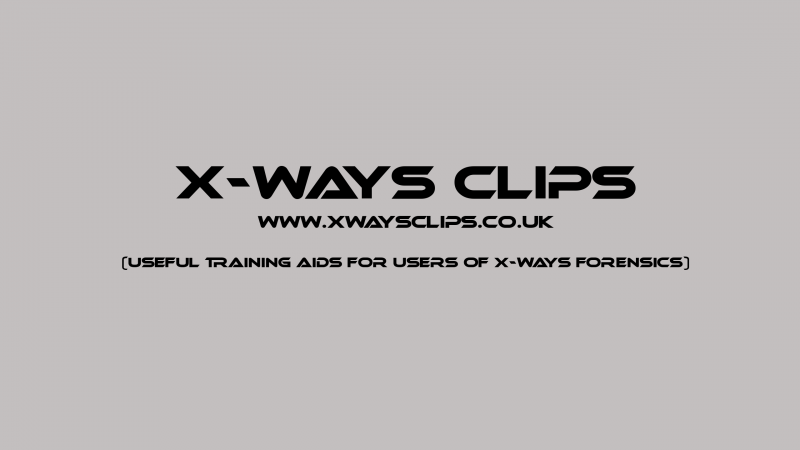 X-Ways Clips Logo